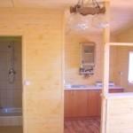 Aneks i łazienka domek nr 3