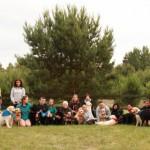 Wiosna 2012 II zlot labradorów